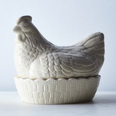 Mason Cash Ceramic Hen on a Nest