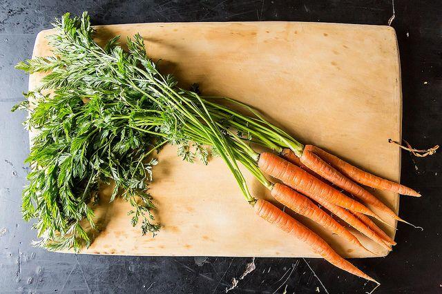 Carrot Top Salsa Verde