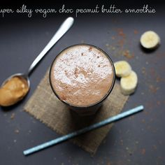 Peanut Butter Cacao Smoothie