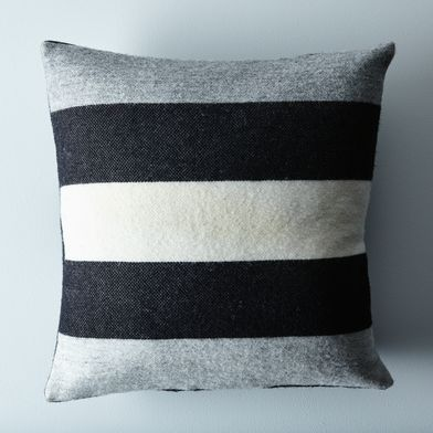 Revival Stripe Throw Pillow