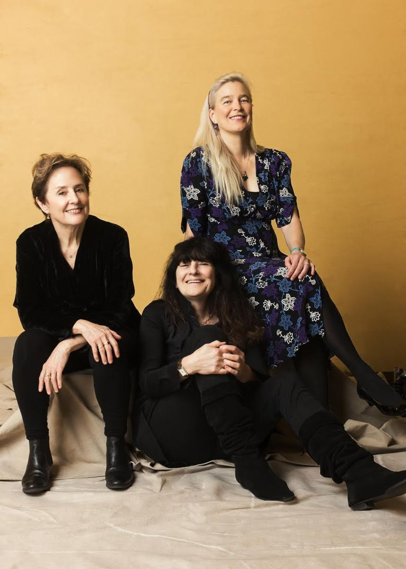 Alice Waters is a restaurateur, cookbook author, and activist; Ruth Reichl is a cookbook author and the former editor of Gourmet; Nell Newman is an activist and environmentalist. The three of them are old friends.