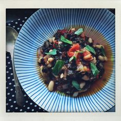 Kale, Tomato + White Bean Stew