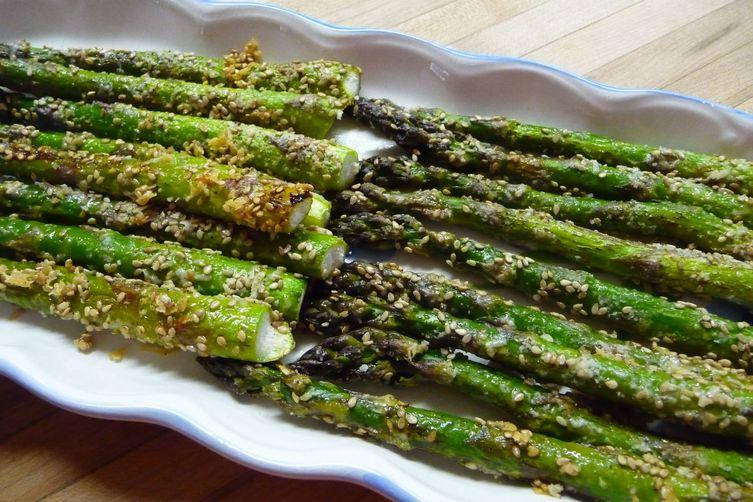 Crunchy Roasted Asparagus