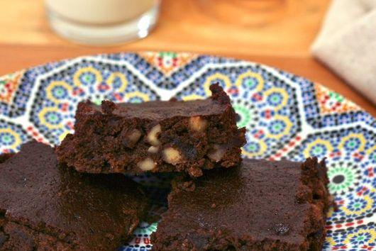 """""""Skinny"""" Brownies"""