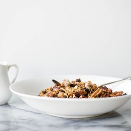 8d444b03 79cd 4bfb 97d2 2114943d0a3f  rose petal granola with pecan and cacao nibs featured image 940x627