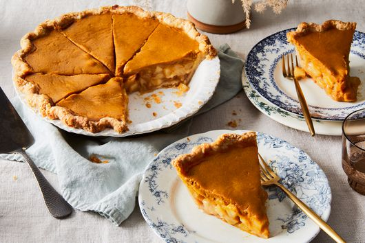 Apple Cider Pumpkin Pie
