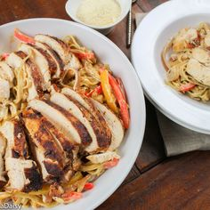 Cajun Spiced Chicken and Fettuccine