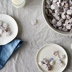 Salted Dark Chocolate Puppy Chow