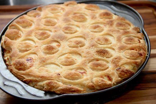 Tantalizing White Onion & Fish Tart