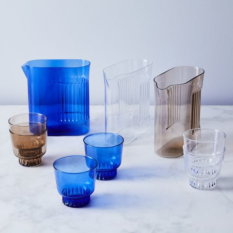 Ridge Handblown Glassware