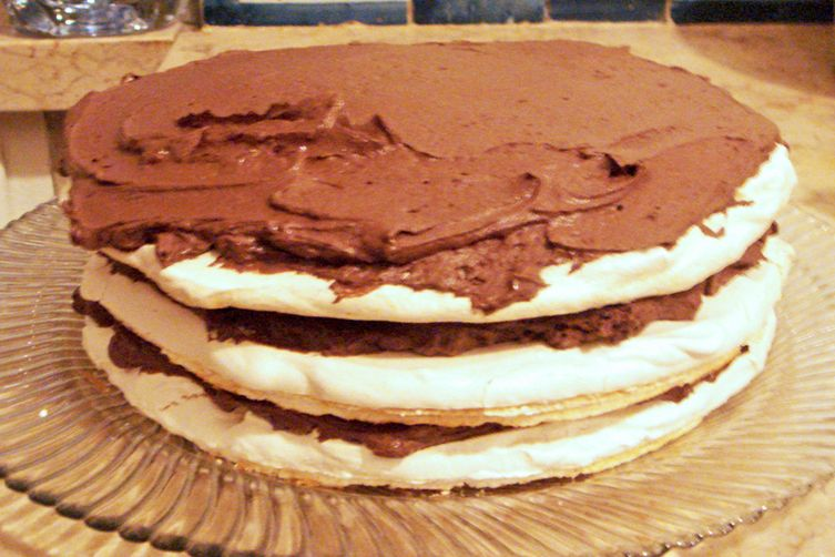 Meringue and Chocolate Cake - My Most Daring Experience