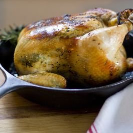 ROASTED CHICKEN :: ORANGE, ROSEMARY, GARLIC