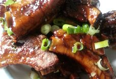 Crispy Deep Fried Back Ribs with Tossing Sauce