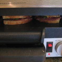 Spinach, Canadian Bacon & Soprresata Panini