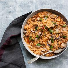 Sardinian Clam Stew With Fregola