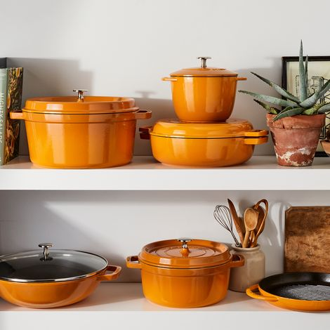 Food52 x Staub Turmeric Cookware Collection