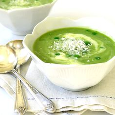 Pea Soup with Coconut Milk & Thai Flavors
