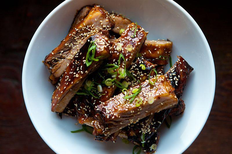 Chinese Style Honey Hoisin Sticky Ribs