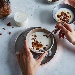 Creamiest Vanilla Bean Yogurt