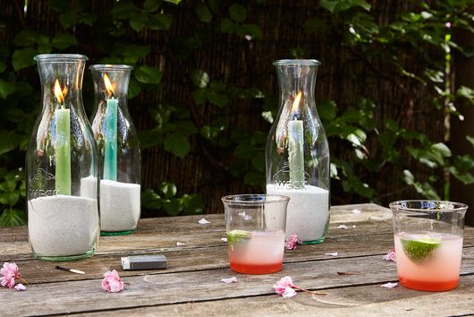 How to Turn a Weck Juice Jar into a Hurricane Lantern (+ More!)