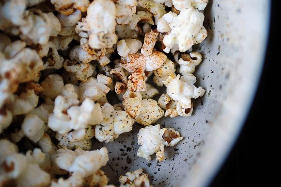 Popcorn with Marjoram and Paprika
