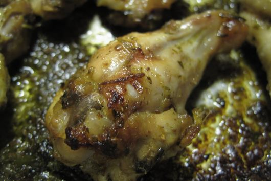 Coriander and Kaffir Lime wings