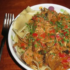 Hungarian Pork Paprikash