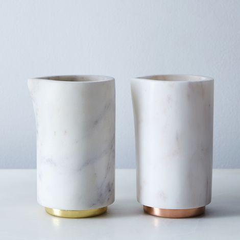 Marble & Metal Creamer