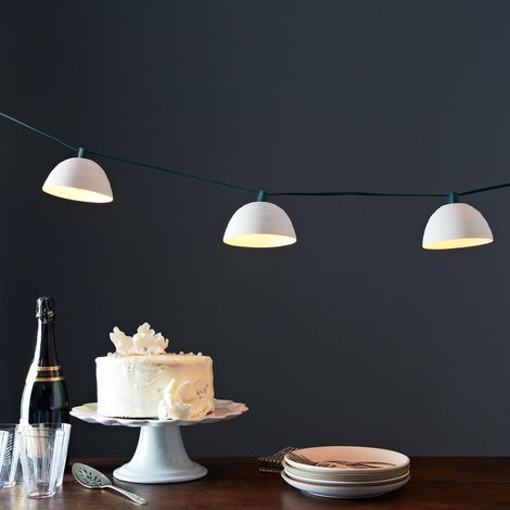 Pleated String Lights