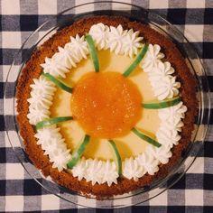 Grapefruit Lime Pie