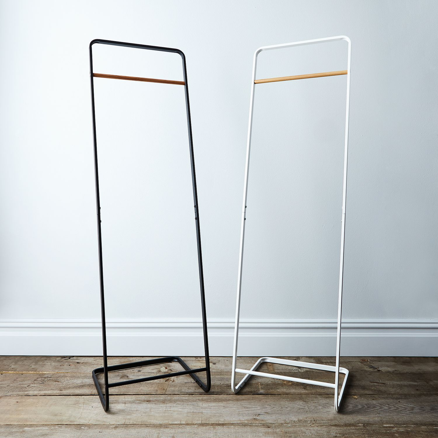 Steel wood clothing rack on food52