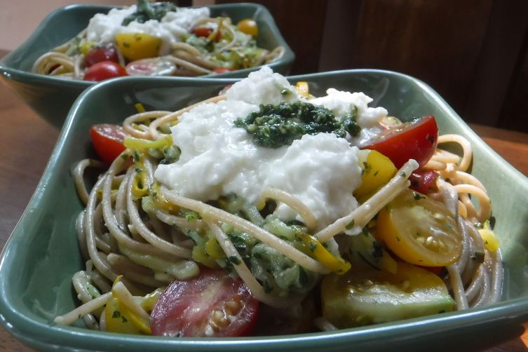 Garden Bounty Pasta