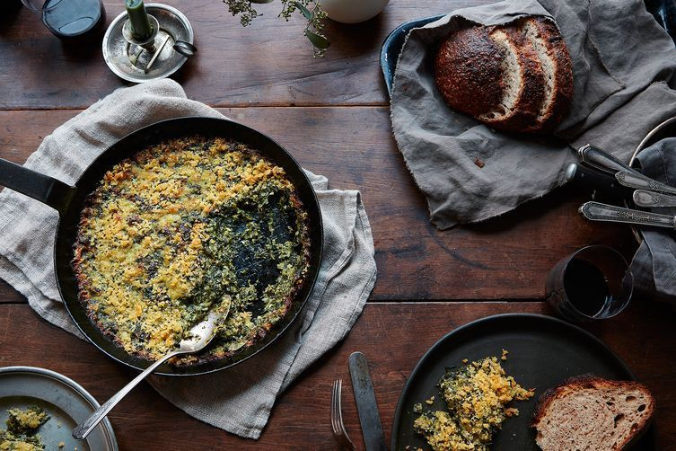 This Genius Creamed Spinach Has No Cream (but Yes, Jalapeños)