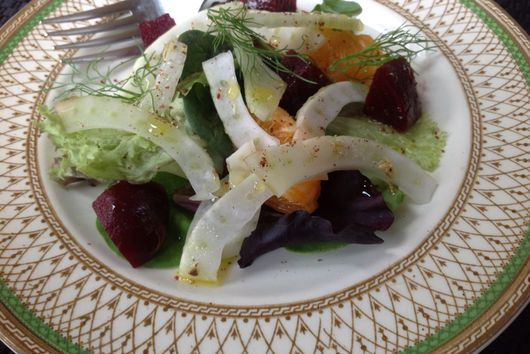 Fennel Salad Dusted with Sumac