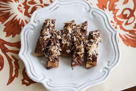 Chocolate Coconut Biscotti