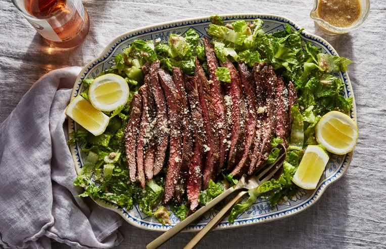 This Steak Caesar Has 5 Ingredients (Yep, Including the Dressing)