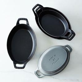 Staub Oval Roasting Dishes