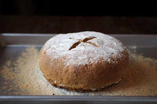 Irish Brown Soda Bread