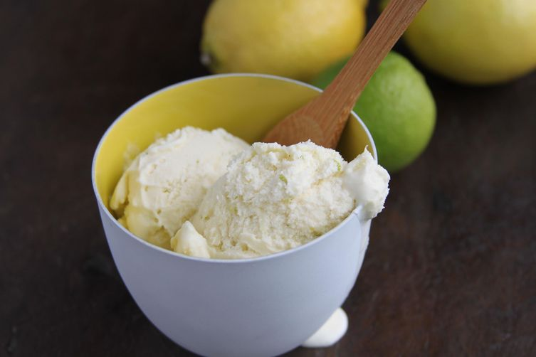 Lemon and Lime ice cream