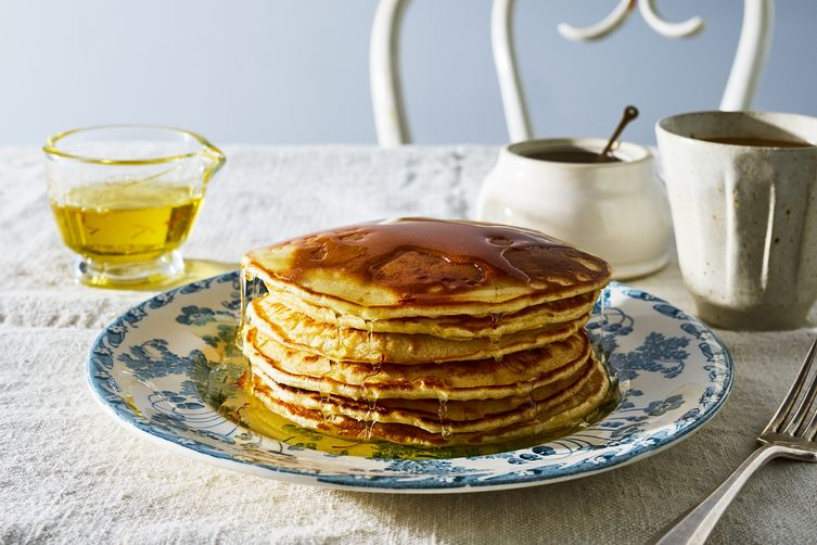 Saffron & Rose Pancakes