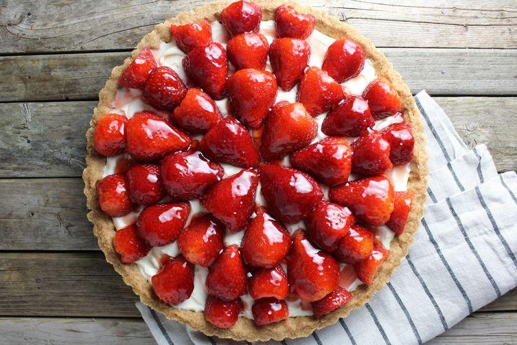 Strawberry Mascarpone Tart Recipe on Food52