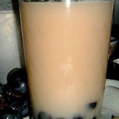 Grape Faux Bubble Tea