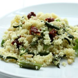Spring Vegetable Couscous Salad