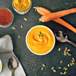 Carrot and Ginger Butternut Squash Soup