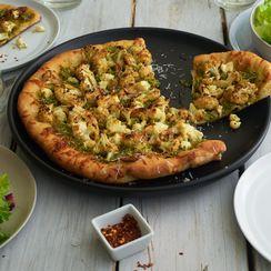 Superfood Pesto Cauliflower Pizza