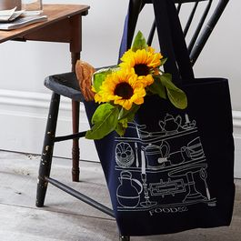 How to Repurpose Your Bright, Blue Ikea Bag