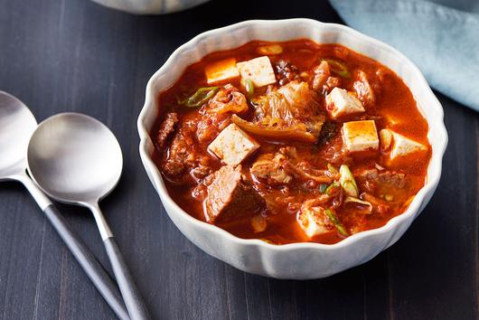 Instant Pot Kimchi Beef Stew (Kimchi Jjigae)