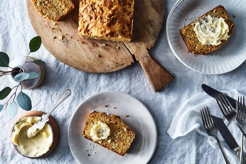 Break barriers with bread.