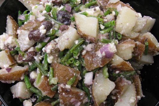 Potato (Plus) Salad with Champagne-Honeydew  Mignonette