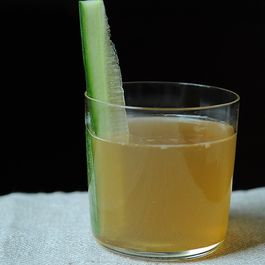 Gingerale with Cucumber